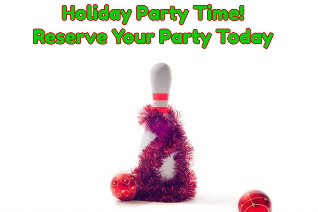 holiday party graphic