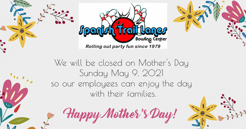 closed for mothers day